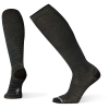 Smartwool Men's Compression Crusin Along Printed Over The Calf Sock - Medium - Black