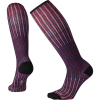 Smartwool Women's Compression Virtual Voyager Printed Over The Calf So - Large - Mountain Purple