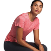The North Face Women's HyperLayer FD SS Top - Large - Cayenne Red Heather