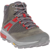 Merrell Men's Zion Mid Waterproof Shoe - 8 - Merrell Grey