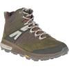 Merrell Men's Zion Mid Waterproof Shoe - 14 - Dark Olive