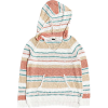 Roxy Women's Airport Vibes Stripe Hoodie - Large - Snow White H True Stripe