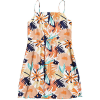 Roxy Women's Sunny Weather Dress - Small - Peach Blush Bright Skies
