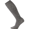 Smartwool Women's Wheat Field Knee High Sock - Large - Charcoal Heather / Winter White