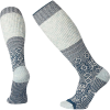 Smartwool Women's Snowflake Flurry Sock - Large - Deep Marlin
