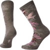 Smartwool Women's Parakeet Palm Crew Sock - Medium - Taupe