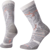 Smartwool Women's Mountain Magpie Crew Sock - Medium - Light Gray