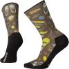Smartwool Hike Light Hut Trip Printed Crew Sock - Medium - Charcoal