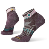 Smartwool Women's PhD Outdoor Light Pattern Mini Sock - Medium - Bordeaux