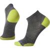 Smartwool PhD Run Ultra Light Low Cut Sock - Large - Medium Gray