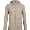 Icebreaker Men's Briar Hooded Jacket - Medium - British Tan