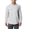 Columbia Men's Blood And Guts III LS Woven Shirt - XS - Cool Grey