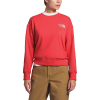 The North Face Women's Parks Slightly Cropped Crew - Large - Cayenne Red