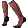 Smartwool Women's Compression Cruise Director Printed Over The Calf So - Large - Woodsmoke