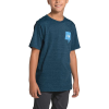 The North Face Boys' Tri-Blend SS Tee - Medium - Blue Wing Teal Heather