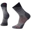Smartwool PhD Outdoor Light Pattern Mid Crew Sock - Large - Light Grey