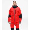 The North Face Men's Summit L5 FUTURELIGHT Jacket - XS - Fiery Red / TNF Black