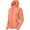 Mammut Women's Macun Softshell Hooded Jacket - Large - Baked