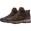 The North Face Men's Trail Edge Mid Waterproof Shoe - 9 - Demitasse Brown / Bipartisan Brown