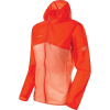 Mammut Women's Convey WB Hooded Jacket - XL - Poinciana/Baked