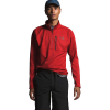 The North Face Men's Canyonlands 1/2 Zip Top - XXL - Pompeian Red Heather