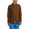 The North Face Men's Hayden Pass 2.0 LS Shirt - Large - Caramel Cafe Mountain Plaid