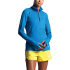 The North Face Women's Essential 1/2 Zip Top - Medium - Clear Lake Blue