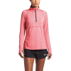 The North Face Women's Essential 1/2 Zip Top - XS - Cayenne Red Heather