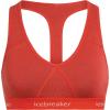 Icebreaker Women's Sprite Racerback Bra - Small - Fire
