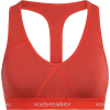 Icebreaker Women's Sprite Racerback Bra - Medium - Fire