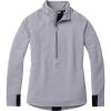 Smartwool Women's Merino Sport Fleece 1/2 Zip Pullover - XS - Light Gray Heather