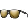 Smith Lowdown Steel XL ChromaPop Polarized Sunglasses - One Size - Matte Black Gold/ChromaPop Polarized Black Gold