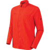Mammut Men's Lenni LS Shirt - Medium - Spicy