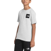 The North Face Boys' Red Box SS Tee - Small - TNF Light Grey Heather