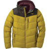 Outdoor Research Men's Transcendent Down Hoody - XL - Turmeric / Forest
