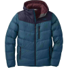 Outdoor Research Men's Transcendent Down Hoody - Small - Prussian Blue / Ink