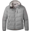Outdoor Research Men's Transcendent Down Hoody - Small - Light Pewter