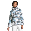 The North Face Women's Campshire 2.0 Pullover Hoodie - XL - Angel Falls Blue Arrow Stripe Print / Mid Grey