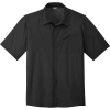 Outdoor Research Men's Astroman SS Sun Shirt - Small - Solid Black