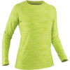 NRS Women's H2Core Silkweight LS Shirt - Large - Lime