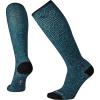 Smartwool Women's Compression Hexa-Jet Printed Over The Calf Sock - Medium - Deep Navy