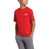 The North Face Boys' Red Box SS Tee - XL - Fiery Red