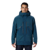 Mountain Hardwear Men's Cloud Bank GTX Insulated Jacket - Small - Icelandic