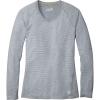 Smartwool Women's Merino 150 Baselayer LS Pattern Top - Medium - Dark Pebble Grey