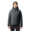 Mountain Hardwear Women's Super/DS Hooded Jacket - Small - Dark Storm
