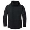 Smartwool Women's Hudson Trail Pullover Fleece Sweater - XL - Black