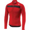 Castelli Men's Puro 3 Full Zip Jersey - Medium - Red