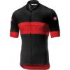 Castelli Men's Prologo VI Jersey - Medium - Black/Red/Black