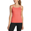 Eddie Bauer Motion Women's Resolution 360 Y Back Tank - Large - Ink Red