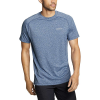 Eddie Bauer Motion Men's Resolution SS Tee - Large - Heather Blue